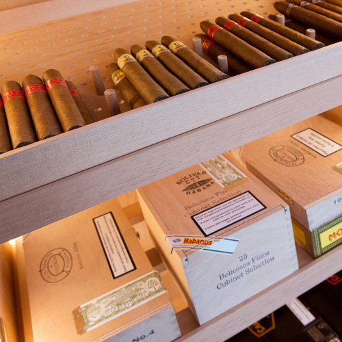 Humidor für einzelne Zigarren und Kisten